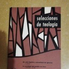 Libros de segunda mano: SELECCIONES DE TEOLOGIA (Nº 20, AÑO V, 1966) HERMENEUTICA Y TEOLOGIA EN R. BULTMANN, LA MASTURBACION. Lote 144425262