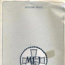 Libros de segunda mano: MANUAL TEOLOGICO-PASTORAL. MAXIMO PEREZ 1984. Lote 190760821