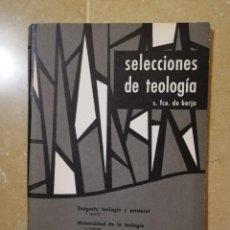 Libros de segunda mano: SELECCIONES DE TEOLOGIA Nº 22 (1967) LA SECULARIDAD CRISTIANA SEGUN ROBINSON, HISTORICIDAD TEOLOGIA. Lote 144536954