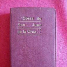 Libros de segunda mano: OBRAS DE SAN JUAN DE LA CRUZ POR SILVERIO DE SANTA TERESA 1940. Lote 144957574