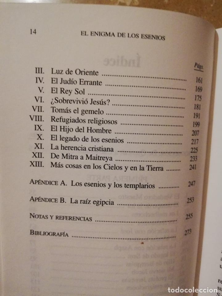 Libros de segunda mano: EL ENIGMA DE LOS ESENIOS (HUGH SCHONFIELD) EDAF - Foto 5 - 164982590