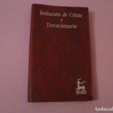 Libros de segunda mano: IMITACIÓN DE CRISTO Y DEVOCIONARIO. BIBLIOTECA AUTORES CRISTIANOS. 1979.. Lote 145358374