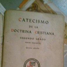 Libros de segunda mano: CATECISMO DE LA DOCTRINA CRISTIANA SEGUNDO GRADO. Lote 145424738