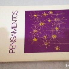 Libros de segunda mano: PENSAMIENTOS / CHIARA LUBICH/ CIUDAD NUEVA. Lote 145517526
