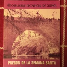 Libros de segunda mano: PREGÓN SEMANA SANTA 1980. Lote 145641840