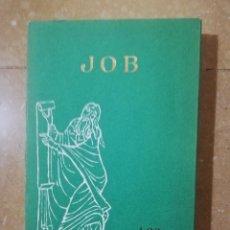 Libros de segunda mano: JOB. LOS LIBROS SAGRADOS (LUIS ALONSO SCHÖKEL / JOSÉ LUZ OJEDA) EDICIONES CRISTIANDAD. Lote 145831730