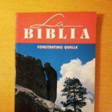 Libros de segunda mano: NUEVOS HORIZONTES Nº 46 (BIBLIA Y BÚSQUEDA DE DIOS) CONSTANTINO QUELLE. Lote 145863354