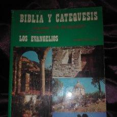 Libros de segunda mano: BIBLIA Y CATEQUESIS III: LOS EVANGELIOS. A. SALAS. ESCUELA BÍBLICA. 1987, 2 ED... Lote 146703330