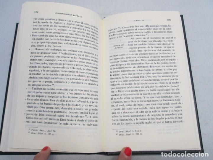Libros de segunda mano: INSTITUCIONES DIVINAS. LIBROS IV-VII. LACTANCIO. BIBLIOTECA CLASICA GREDOS. 1990. VER FOTOGRAFIAS - Foto 13 - 146916842