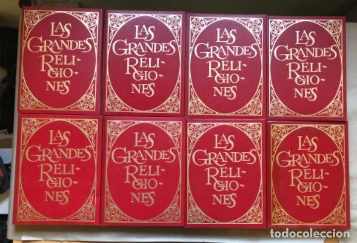 LAS GRANDES RELIGIONES (8 TOMOS, COMPLETA). PLAZA & JANÉS EDITORES 1965. (Libros de Segunda Mano - Religión)
