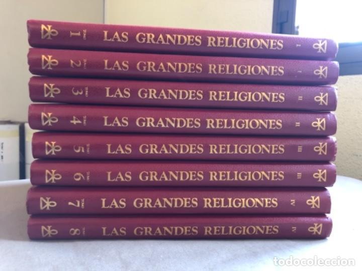 Libros de segunda mano: LAS GRANDES RELIGIONES (8 TOMOS, COMPLETA). PLAZA & JANÉS EDITORES 1965. - Foto 2 - 147030434
