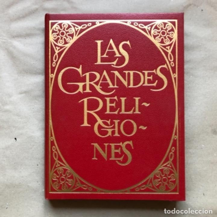 Libros de segunda mano: LAS GRANDES RELIGIONES (8 TOMOS, COMPLETA). PLAZA & JANÉS EDITORES 1965. - Foto 3 - 147030434