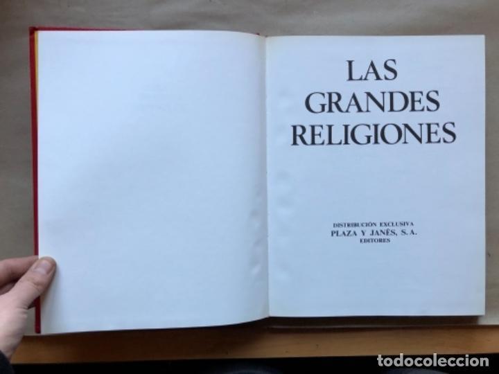 Libros de segunda mano: LAS GRANDES RELIGIONES (8 TOMOS, COMPLETA). PLAZA & JANÉS EDITORES 1965. - Foto 10 - 147030434
