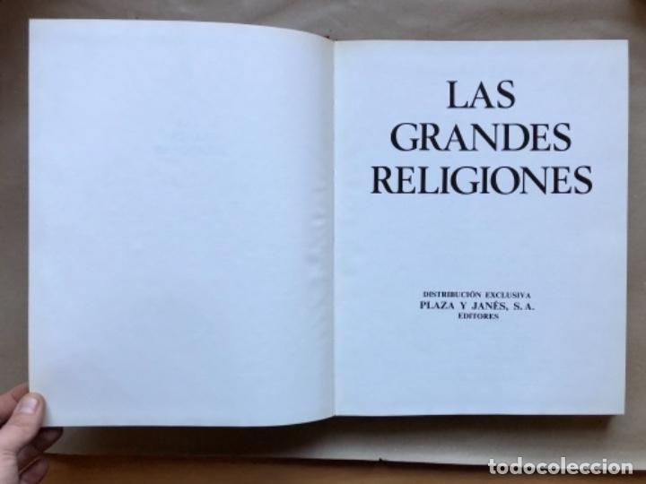 Libros de segunda mano: LAS GRANDES RELIGIONES (8 TOMOS, COMPLETA). PLAZA & JANÉS EDITORES 1965. - Foto 17 - 147030434