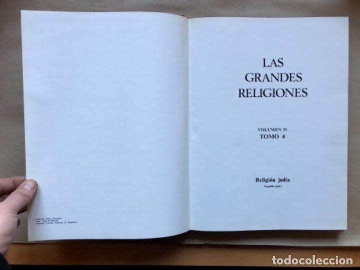 Libros de segunda mano: LAS GRANDES RELIGIONES (8 TOMOS, COMPLETA). PLAZA & JANÉS EDITORES 1965. - Foto 21 - 147030434