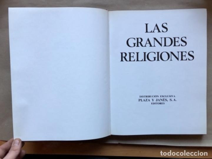 Libros de segunda mano: LAS GRANDES RELIGIONES (8 TOMOS, COMPLETA). PLAZA & JANÉS EDITORES 1965. - Foto 27 - 147030434