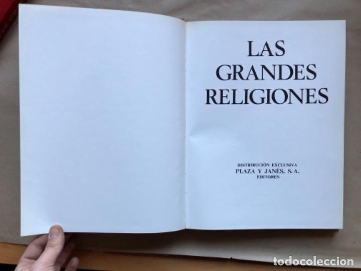 Libros de segunda mano: LAS GRANDES RELIGIONES (8 TOMOS, COMPLETA). PLAZA & JANÉS EDITORES 1965. - Foto 39 - 147030434