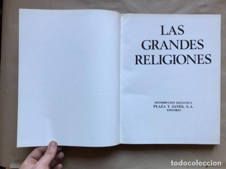 Libros de segunda mano: LAS GRANDES RELIGIONES (8 TOMOS, COMPLETA). PLAZA & JANÉS EDITORES 1965. - Foto 45 - 147030434