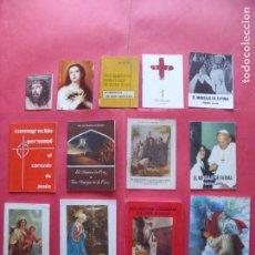 Libros de segunda mano: RELIGION.-LIBROS.-LOTE DE 13 LIBROS RELIGIOSOS.. Lote 147076918