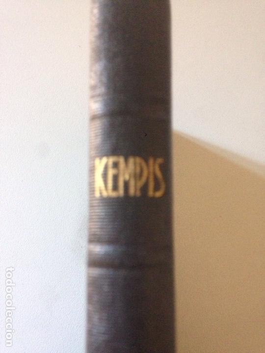 1941.- KEMPIS. IMITACION DE CRISTO (Libros de Segunda Mano - Religión)