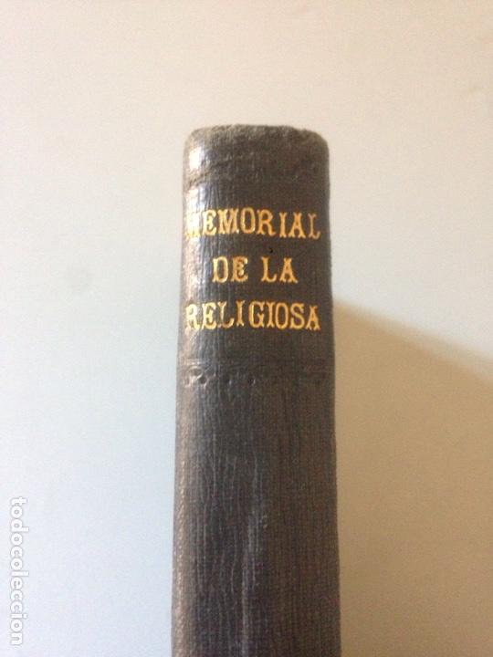 Libros de segunda mano: MEMORIAL DE LA RELIGIOSIDAD 1906 - Foto 2 - 147606921