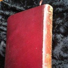 Libros de segunda mano: COMENTARIOS A LOS CUATRO EVANGELIOS - EVANGELIO DE SAN MATEO - JUAN DE MALDONADO - PIEL. Lote 147683562