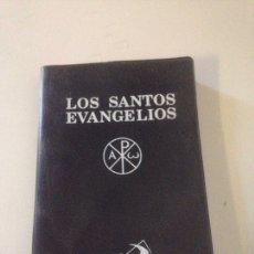 Libros de segunda mano: LOS SANTOS EVANGELIOS 4 EDICION EVARISTO MARTIN. Lote 148108405