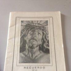 Libros de segunda mano: RECUERDO DE LA SANTA MISIÓN DE LOS PP. DE LA COMPAÑÍA DE JESUS. Lote 148175702
