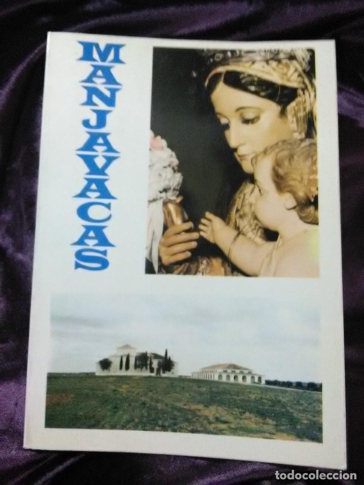 (MOTA DEL CUERVO, CUENCA). MANJAVACAS. APUNTES PARA UN MAYOR CONOCIMIENTO... COBO-CANIEGO. 1980. (Libros de Segunda Mano - Religión)