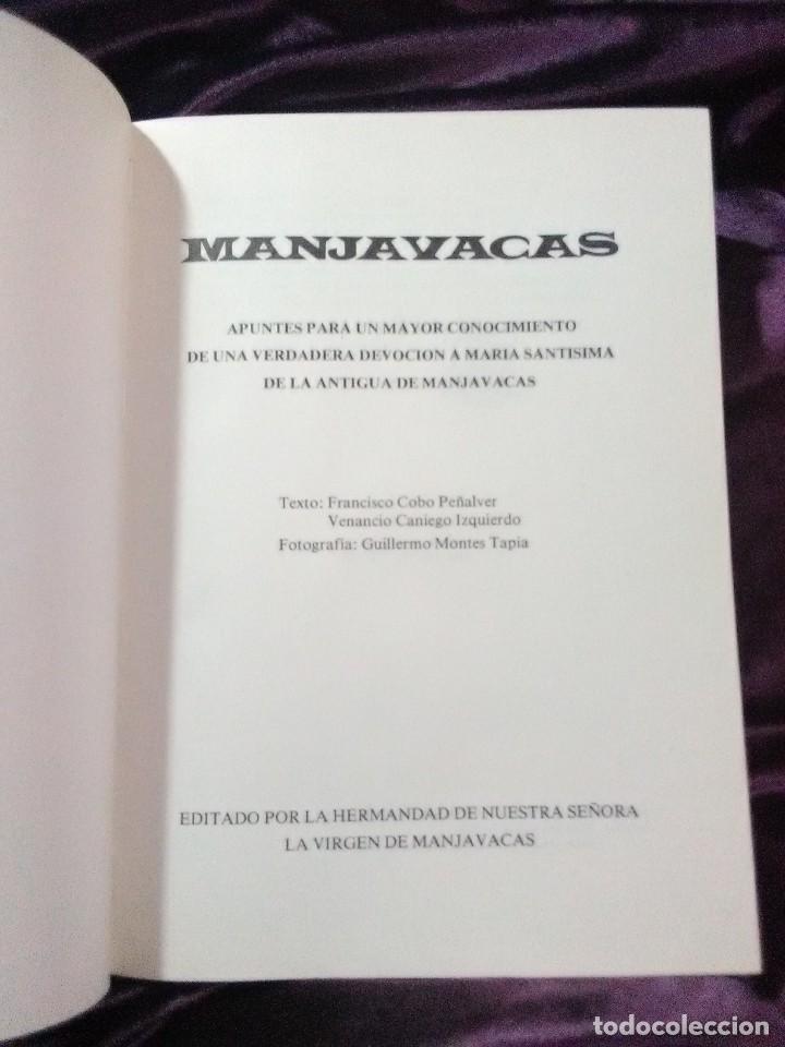 Libros de segunda mano: (Mota del Cuervo, Cuenca). Manjavacas. Apuntes para un mayor conocimiento... Cobo-Caniego. 1980. - Foto 2 - 148492886