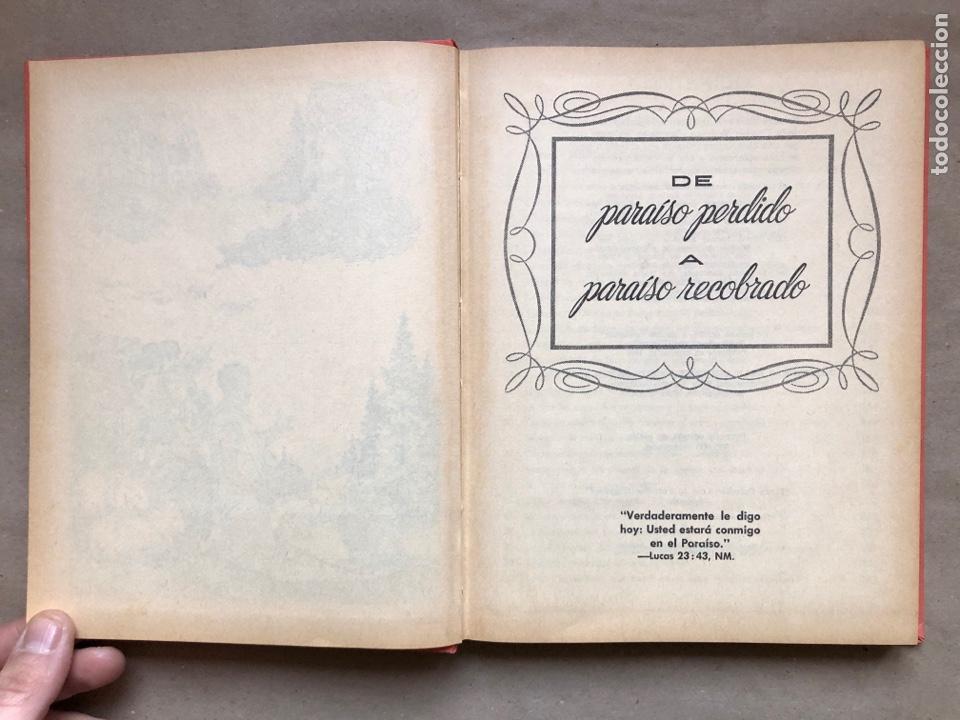 Libros de segunda mano: DE PARAÍSO PERDIDO A PARAÍSO RECOBRADO. EDITADO EN 1959. - Foto 3 - 194877767