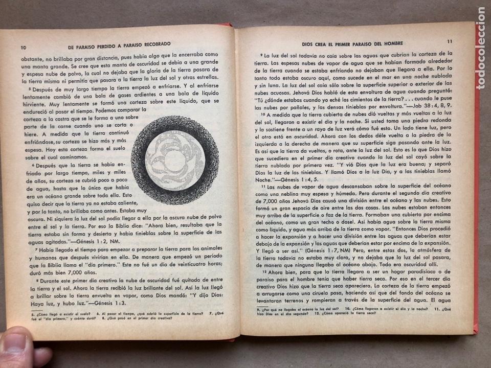 Libros de segunda mano: DE PARAÍSO PERDIDO A PARAÍSO RECOBRADO. EDITADO EN 1959. - Foto 4 - 194877767
