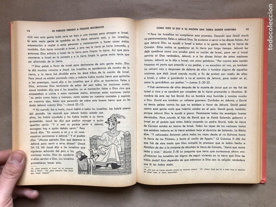 Libros de segunda mano: DE PARAÍSO PERDIDO A PARAÍSO RECOBRADO. EDITADO EN 1959. - Foto 5 - 194877767