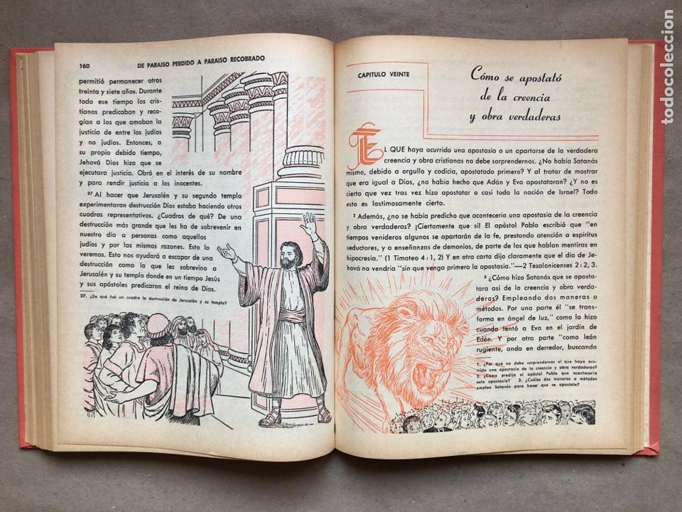 Libros de segunda mano: DE PARAÍSO PERDIDO A PARAÍSO RECOBRADO. EDITADO EN 1959. - Foto 6 - 194877767