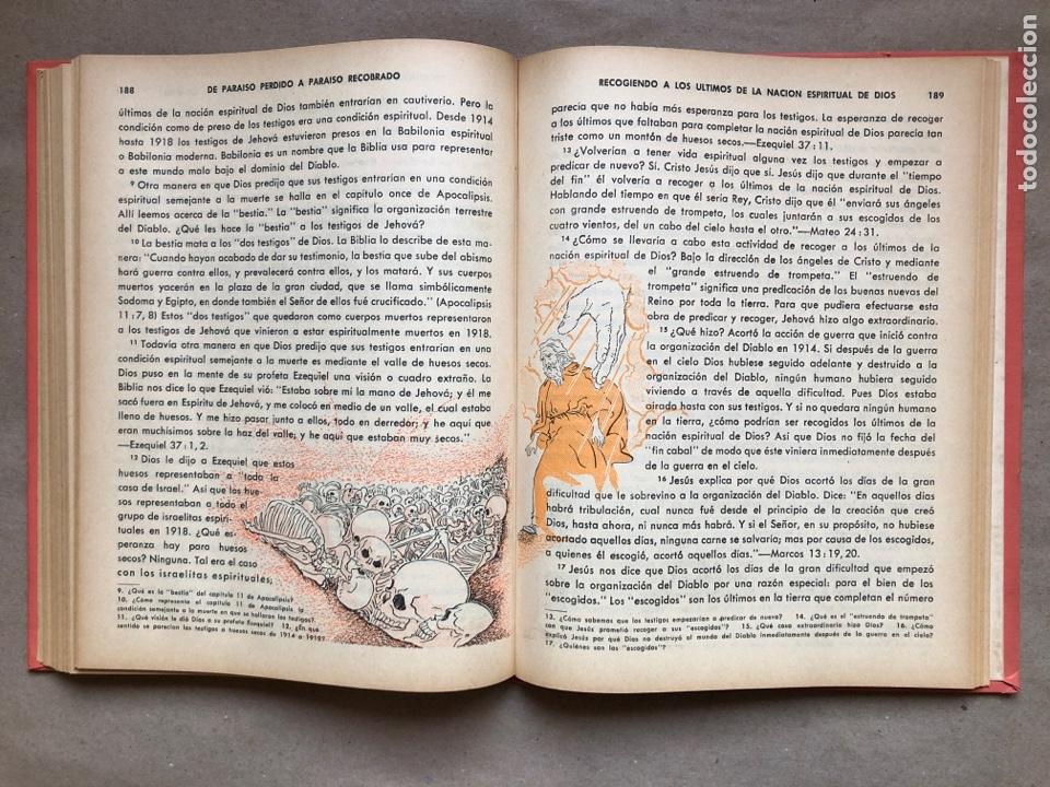 Libros de segunda mano: DE PARAÍSO PERDIDO A PARAÍSO RECOBRADO. EDITADO EN 1959. - Foto 7 - 194877767