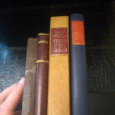 Libros de segunda mano: LOTE DE 4 LIBROS. Lote 148584952