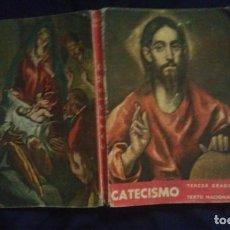Libros de segunda mano: CATECISMO - TERCER GRADO - TEXTO NACIONAL. Lote 148654198