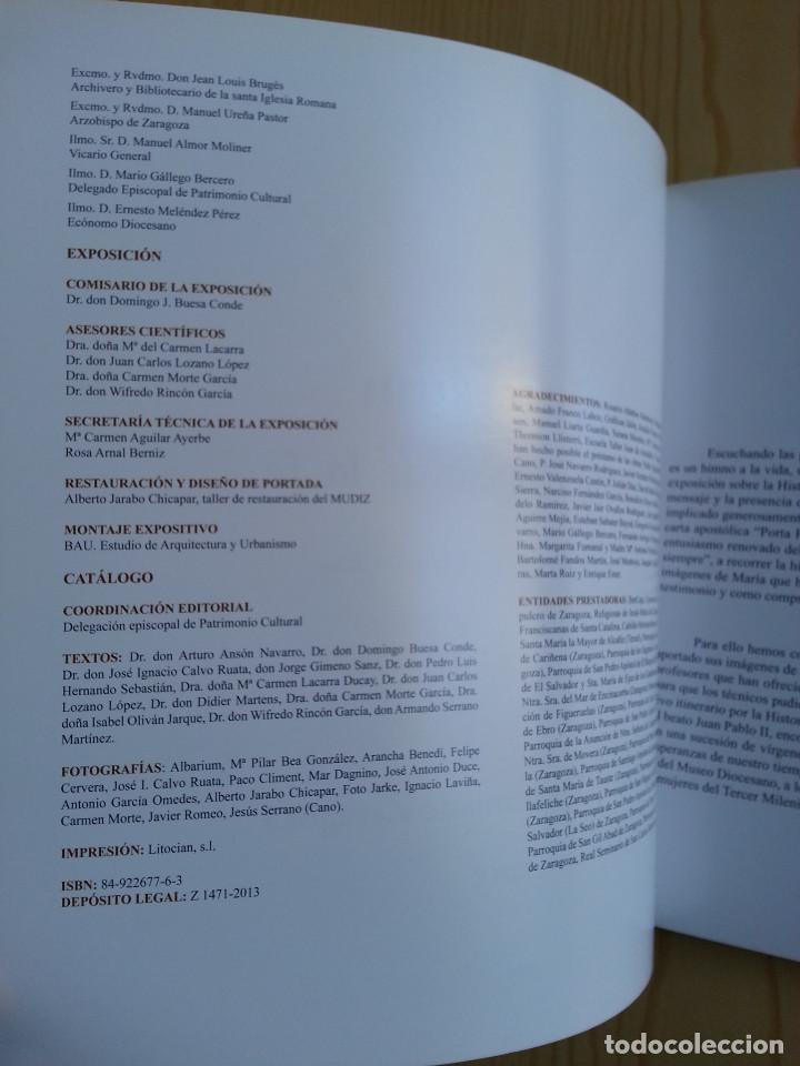 Libros de segunda mano: SPECULUM: MARÍA, ESPEJO DE LA FE - CATÁLOGO EXPOSICIÓN MUSEO DIOCESANO ZARAGOZA 2013 - CON FOLLETO - Foto 4 - 148843938