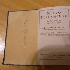 Libros de segunda mano: ** LIBRO, --- NUEVO TESTAMENTO --- AÑOS 60 PAG 769 15/10 CM.. Lote 149200717