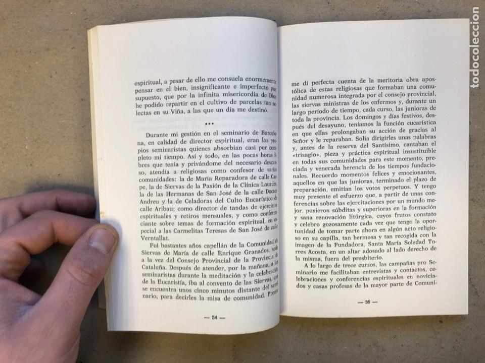 Libros de segunda mano: RELIGIOSAS SIEMPRE. JAIME ROVIRA. EDITORIAL CLA 1976 (1ªEDICIÓN). - Foto 3 - 149207824