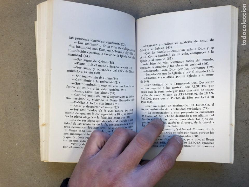 Libros de segunda mano: RELIGIOSAS SIEMPRE. JAIME ROVIRA. EDITORIAL CLA 1976 (1ªEDICIÓN). - Foto 5 - 149207824