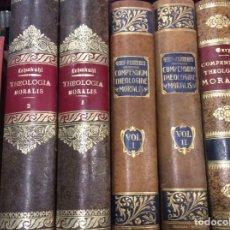 Libros de segunda mano: LOTE THEOLOGIA MORALIS, COMPENDIUM . Lote 149228058