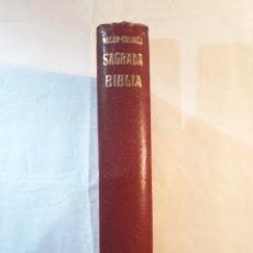 Libros de segunda mano: NACAR COLUNGA.SAGRADA BIBLIA.1964.PERFECTO ESTADO.CON SU ESTUCHE.. Lote 149820804