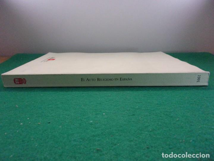 Libros de segunda mano: EL AUTO RELIGIOSO EN ESPAÑA / 1991. Teatro Albeniz - Foto 10 - 149927038