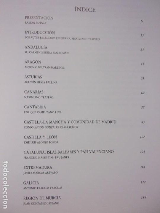 Libros de segunda mano: EL AUTO RELIGIOSO EN ESPAÑA / 1991. Teatro Albeniz - Foto 4 - 149927038