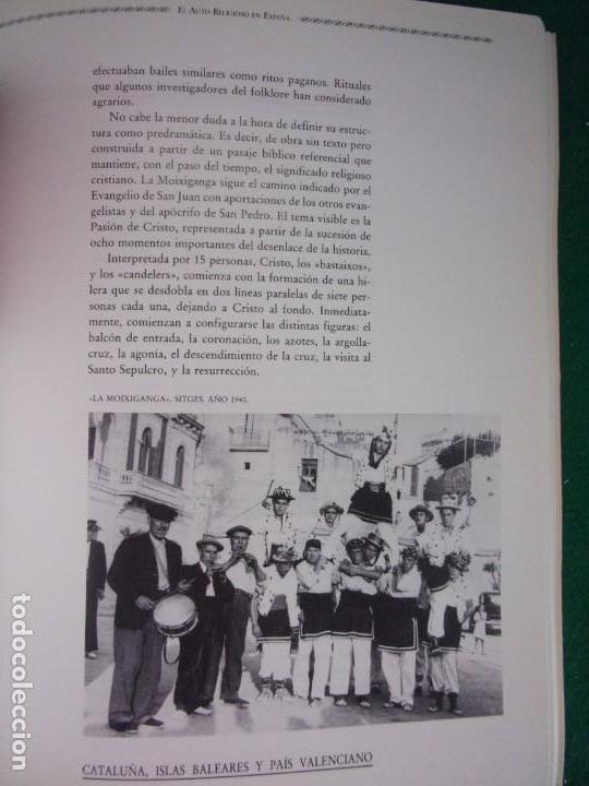 Libros de segunda mano: EL AUTO RELIGIOSO EN ESPAÑA / 1991. Teatro Albeniz - Foto 6 - 149927038