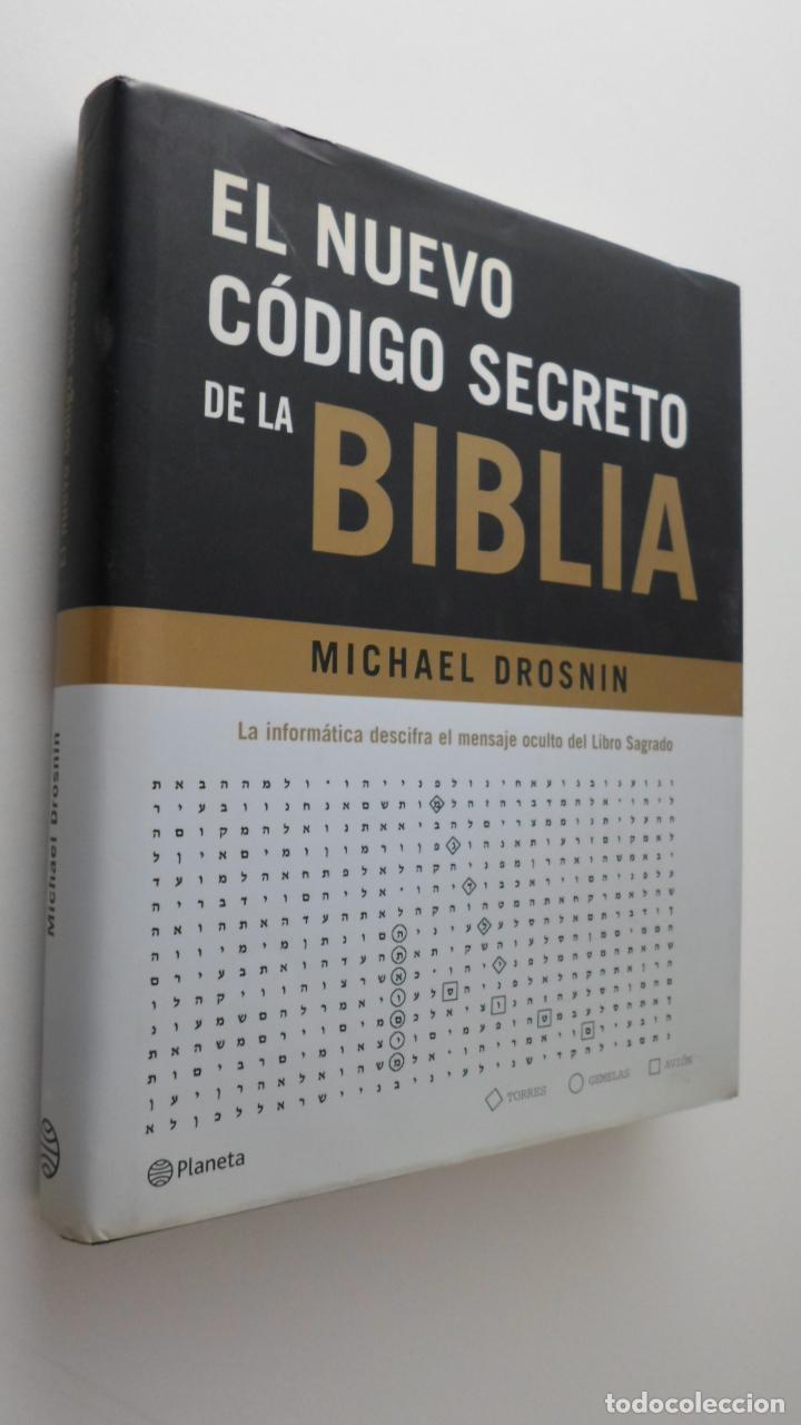 EL NUEVO CÓDIGO SECRETO DE LA BIBLIA - DROSNIN, MICHAEL (Libros de Segunda Mano - Religión)