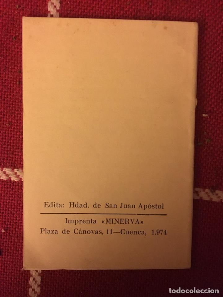 Libros de segunda mano: Vida de san Juan apóstol evangelista 1974 Cuenca - Foto 2 - 150307928