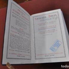 Libros de segunda mano: SAGRADA BIBLIA - BIBLIOTECA AUTORES CRISTIANOS - VERSION DIRECTA DE LAS ORIGINALES - REBIBLIA1. Lote 150514878
