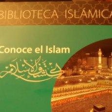 Libros de segunda mano: CONOCE EL ISLAM(CENTRE CULTURAL ISLAMIC CATALA). Lote 150576636